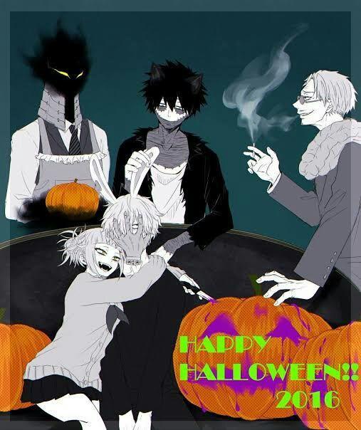 bnha oneshot x reader 2  🎃 halloween 🎃  risa