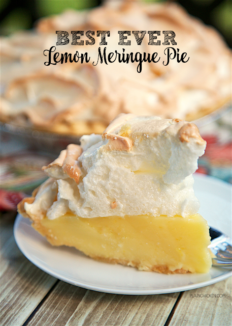Best Ever Lemon Meringue Pie #lemonmeringuepie