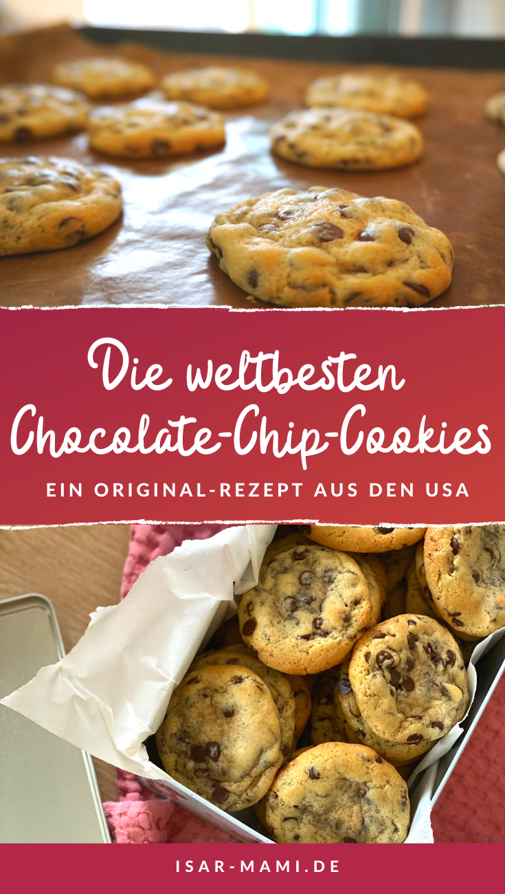 Softbatch Creamcheese-Chocolate-Chip-Cookies - Das beste Cookie-Rezept aus den USA!