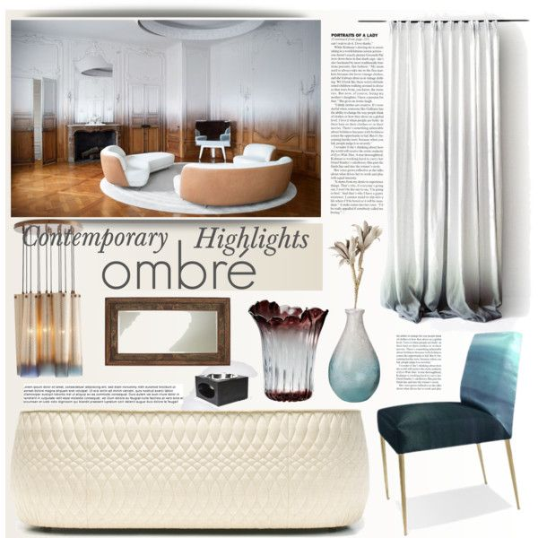 {ombré accents} Home decor, Interior, Decorating your home