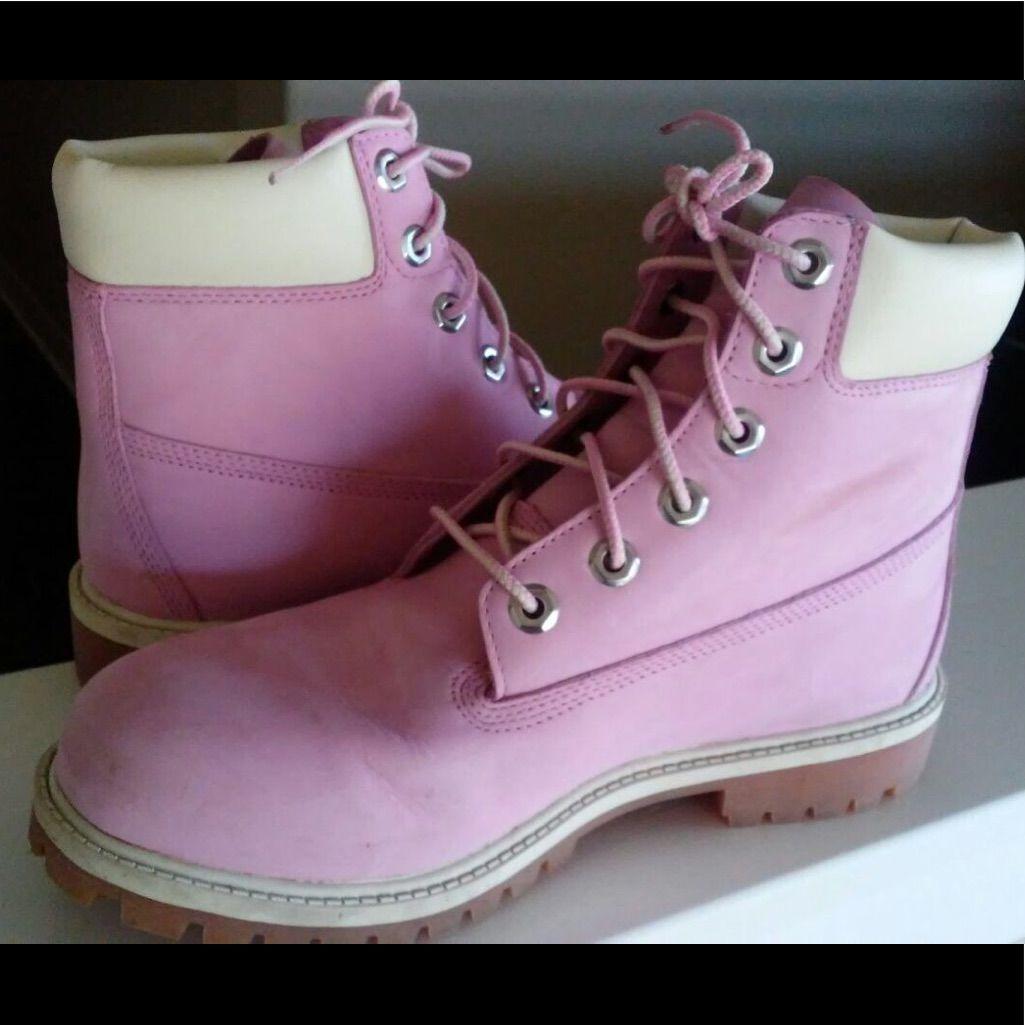 5600b57cfcdec Bubblegum Pink Timberland Boots | Products | Pink timberland boots ...