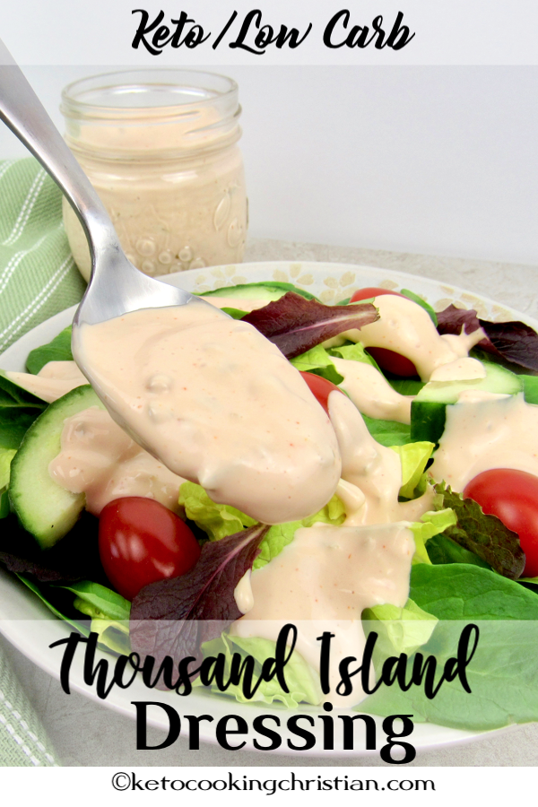 Thousand Island Dressing Keto And Low Carb A Low Carb And Keto Friendly Dressing That Is C Low Carb Salad Dressing Thousand Island Dressing Low Carb Dressing