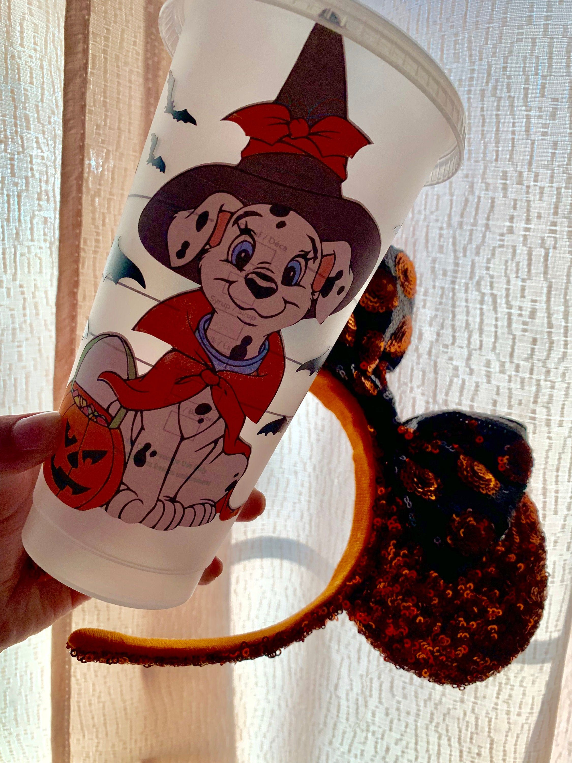 The united states customary cup holds 8 fluid ounces. 101 Dalmation Halloween Cup/ Halloween cups/ Disney Halloween | Etsy in 2021 | Halloween cups ...