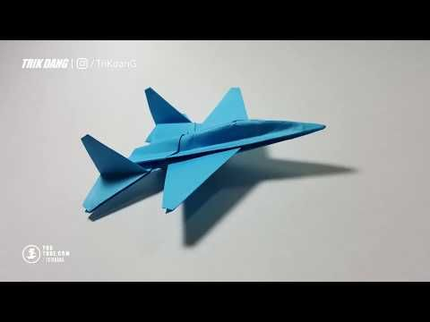 Como Hacer Un Avion De Pape Model F 14 Youtube Aviones De Papel Como Hacer Un Avion Sobres De Papel