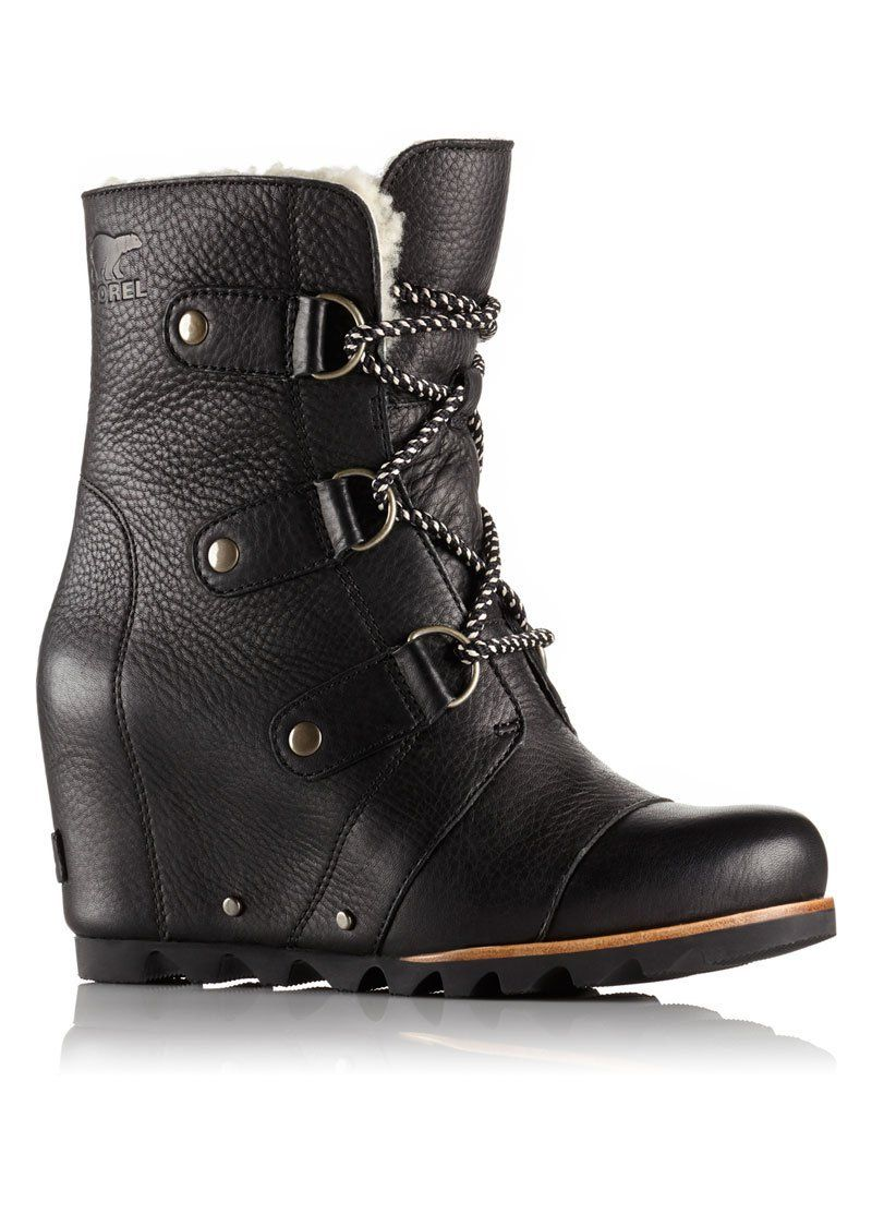 Arctic Mid Wedge Shearling Boot