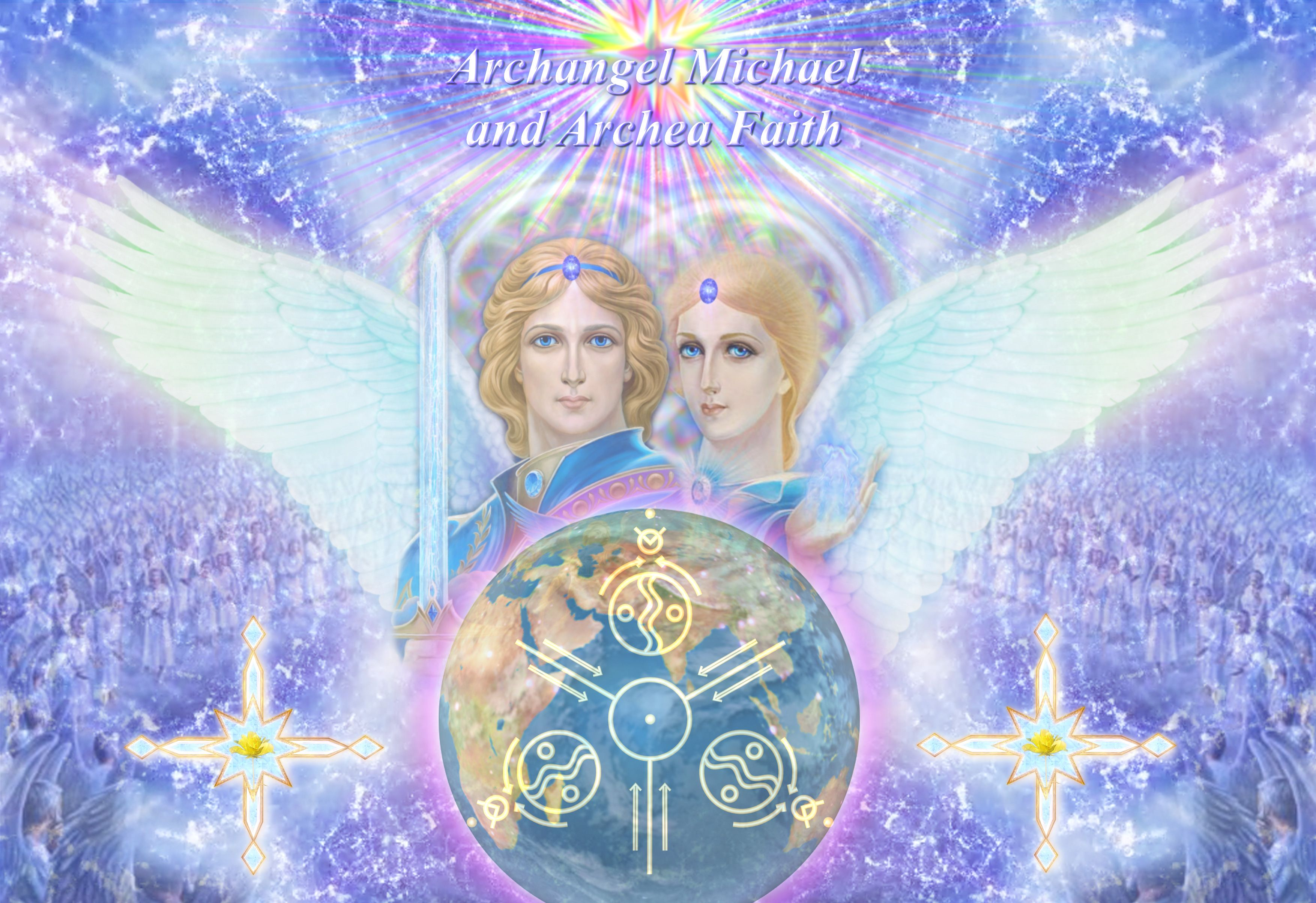 Image result for archangel zadkiel and holy amethyst
