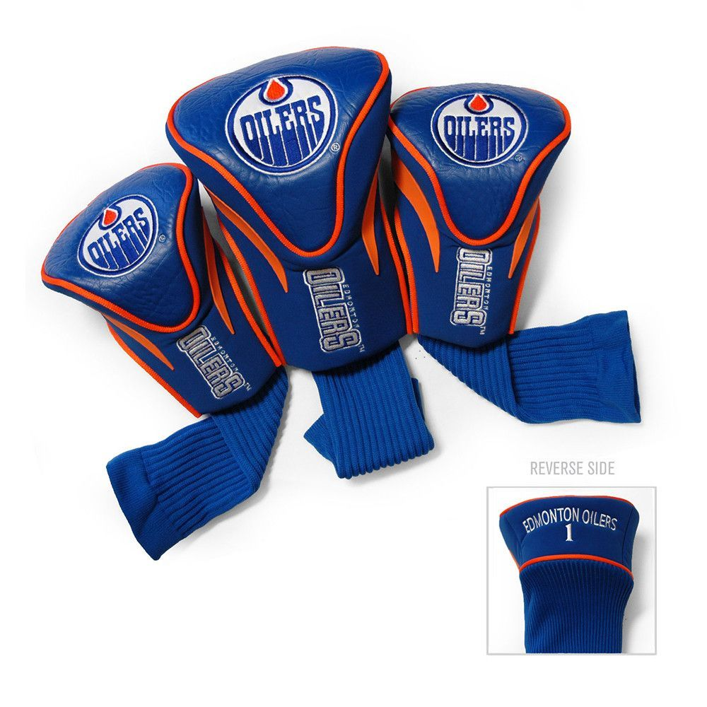 Edmonton Oilers NHL 3 Pack Contour Fit Headcover