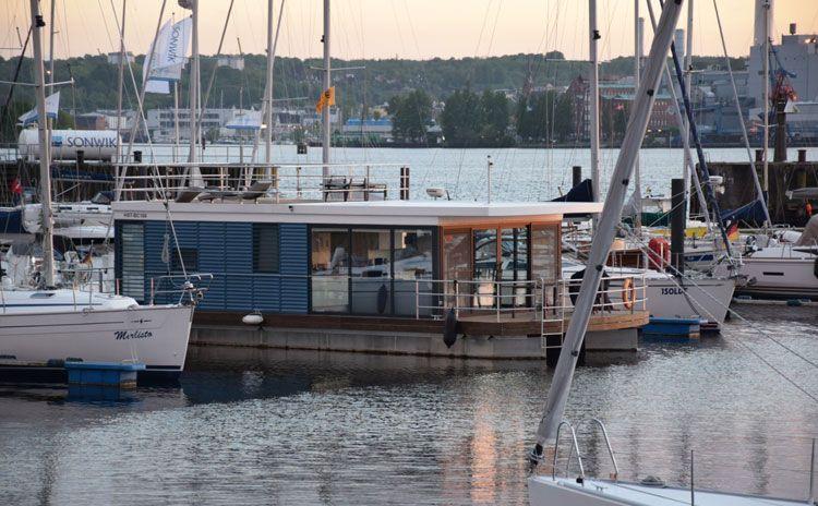 liegeplatz hausboot flensburg Schwimmende häuser, Haus