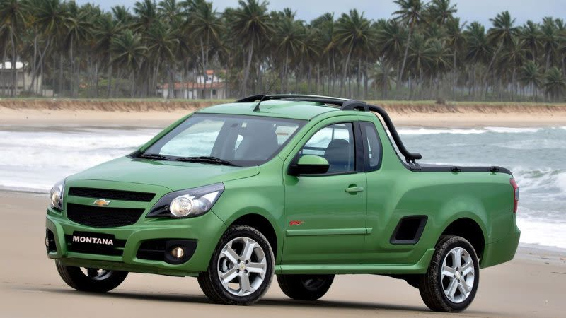 List Of Car Based Pick Ups Utes Chevrolet Compact Trucks