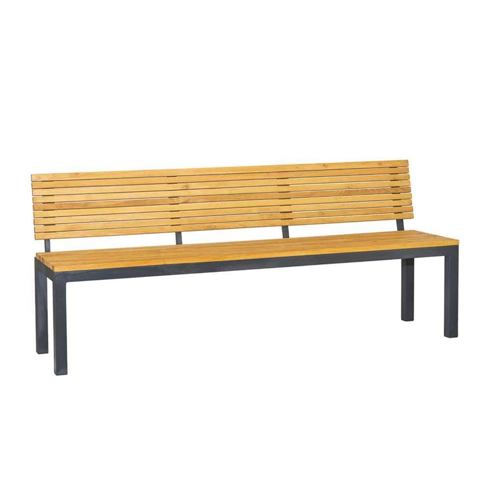 Sitzbänke Holz sitzbank holz metall dekoration ideen