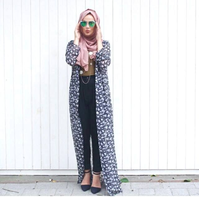 how to wear hijab without pins