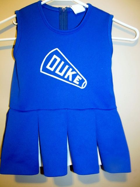 2dd510fe Duke Blue Devils Cheerleader outfit , Toddler 4T - College-NCAA Toddler  Jerseys, Cheerleading