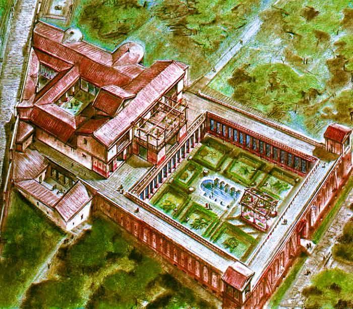 La villa di diomede a pompei rinasce grazie alla for Costruisci il tuo gioco online di casa