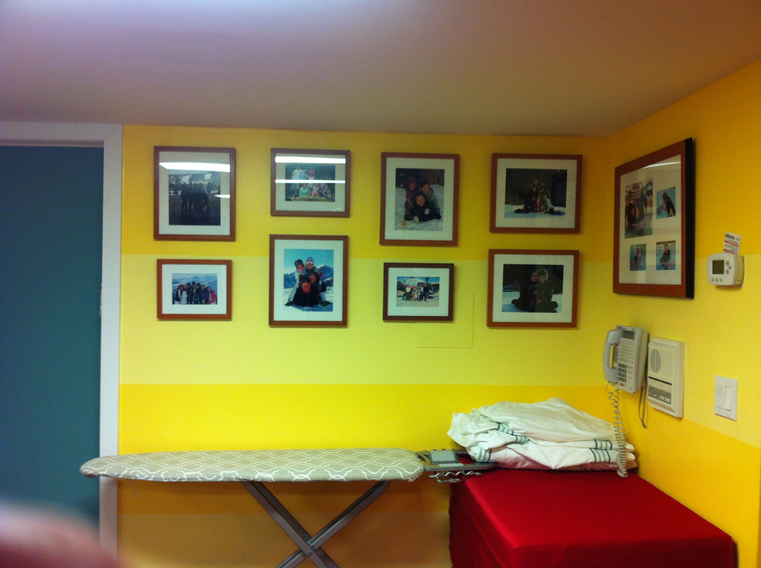 Professional picture hanging service & custom framing by