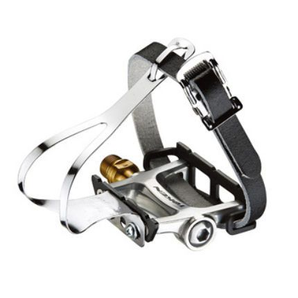 Token Tk456 Track Pedal With Toe Clip Bike Pedals Pedal