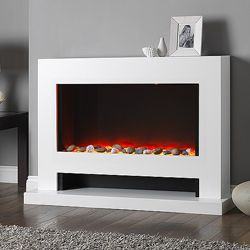 Garland Corona Electric Fireplace Suite | Fires Fireplaces and ...