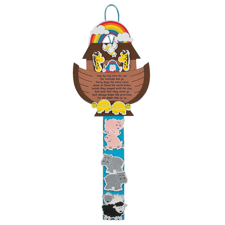 Noah\'s Ark Craft Kit   El arca de noe, Arca de noé y Escuela