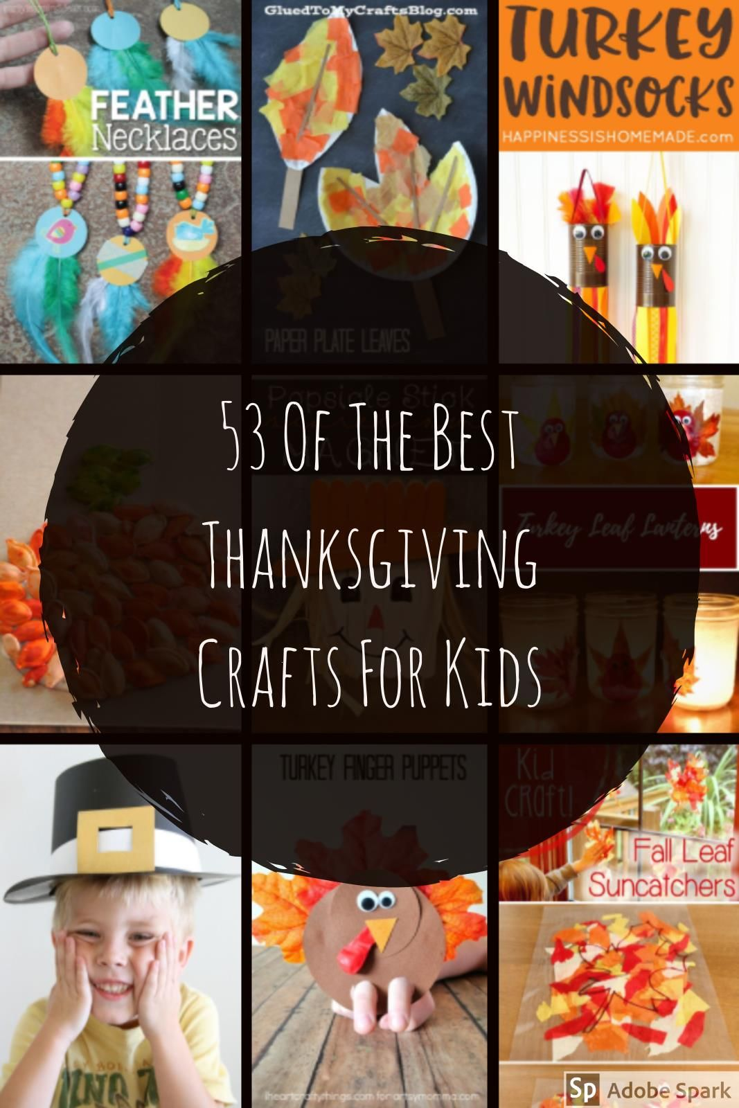 The best Thanksgiving craft ideas on Pinterest all in one