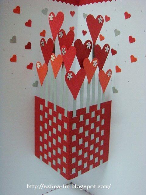 Lin Handmade Greetings Card Quilling Tarjetas Creativas