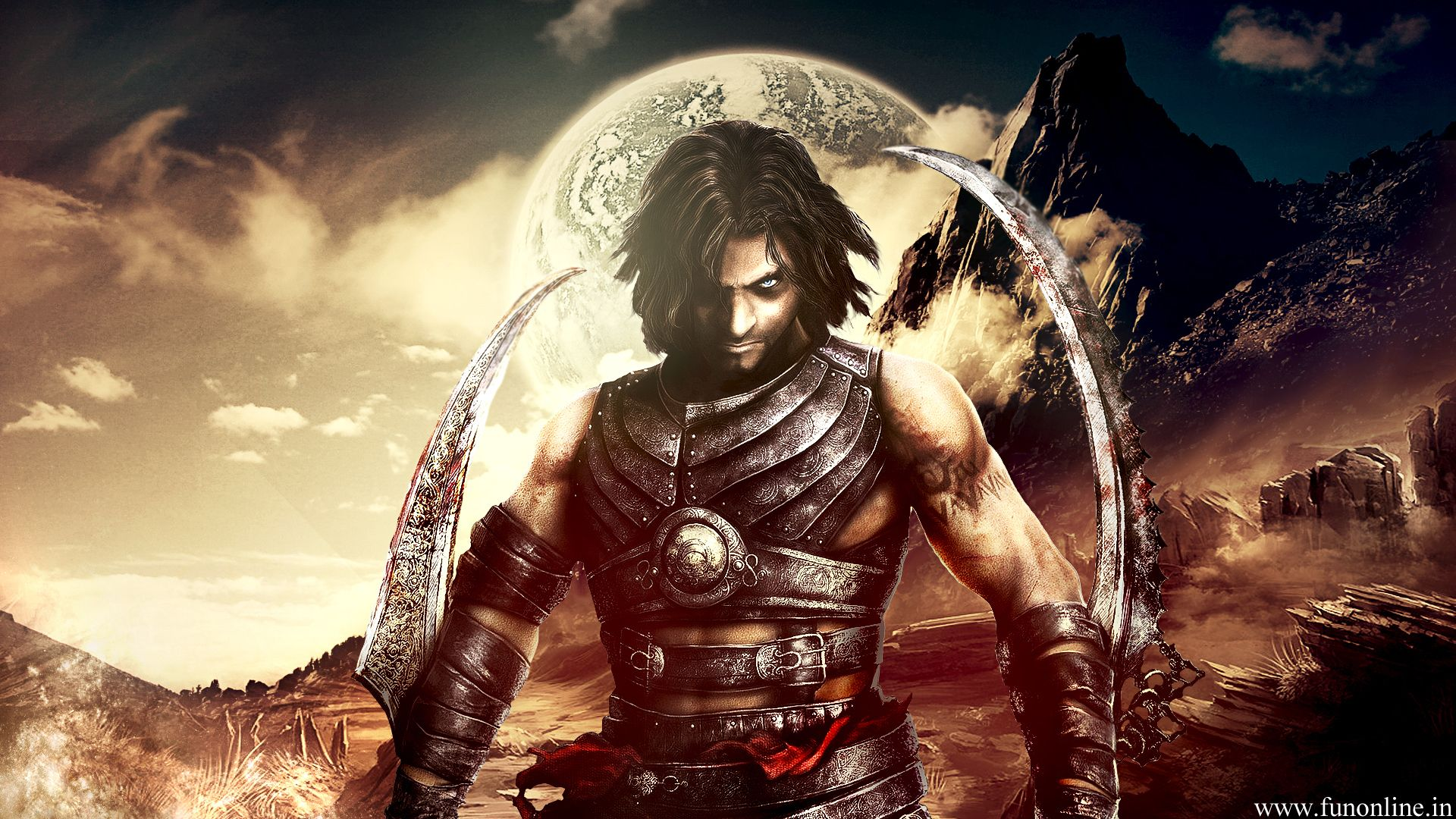 Tenoch Prince of persia, Warrior within, Persia