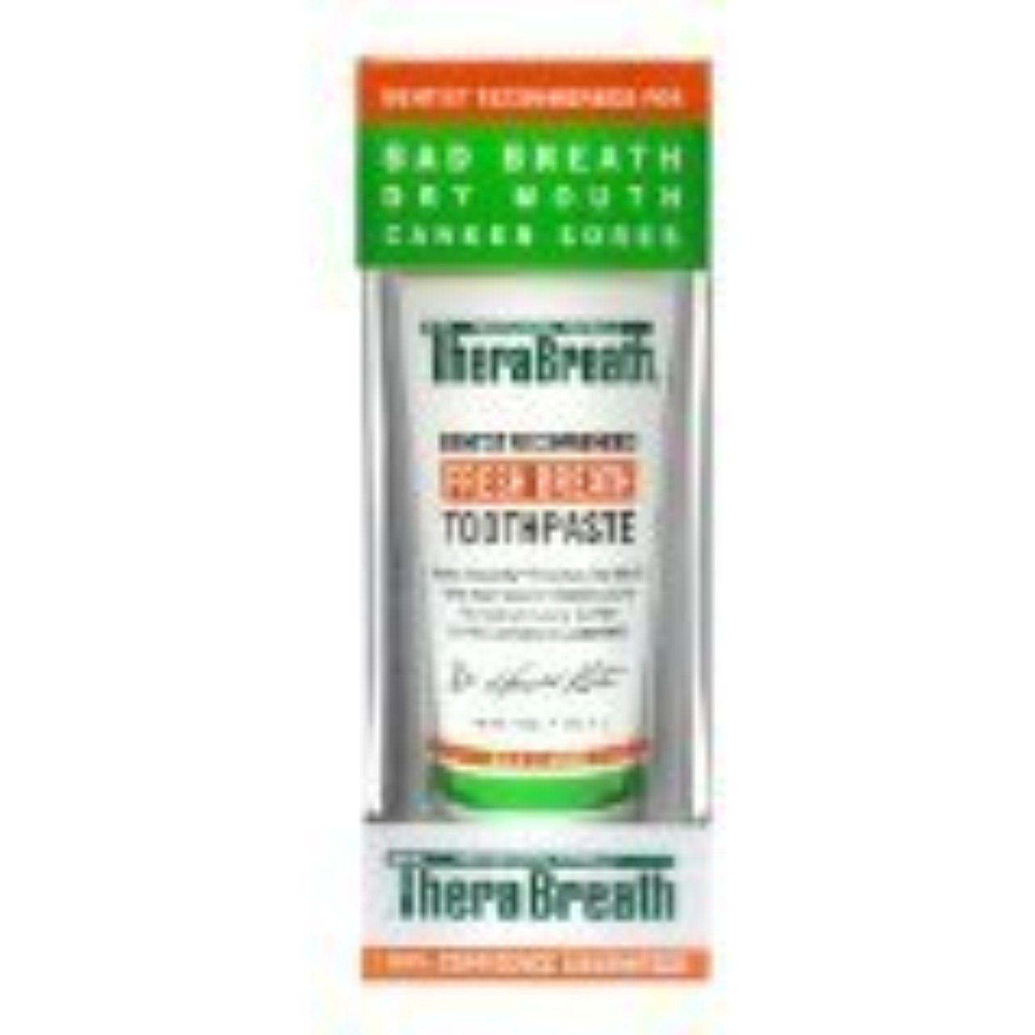 Dr. Katz Thera Breath Toothpaste With Fluoride, 4 oz. by