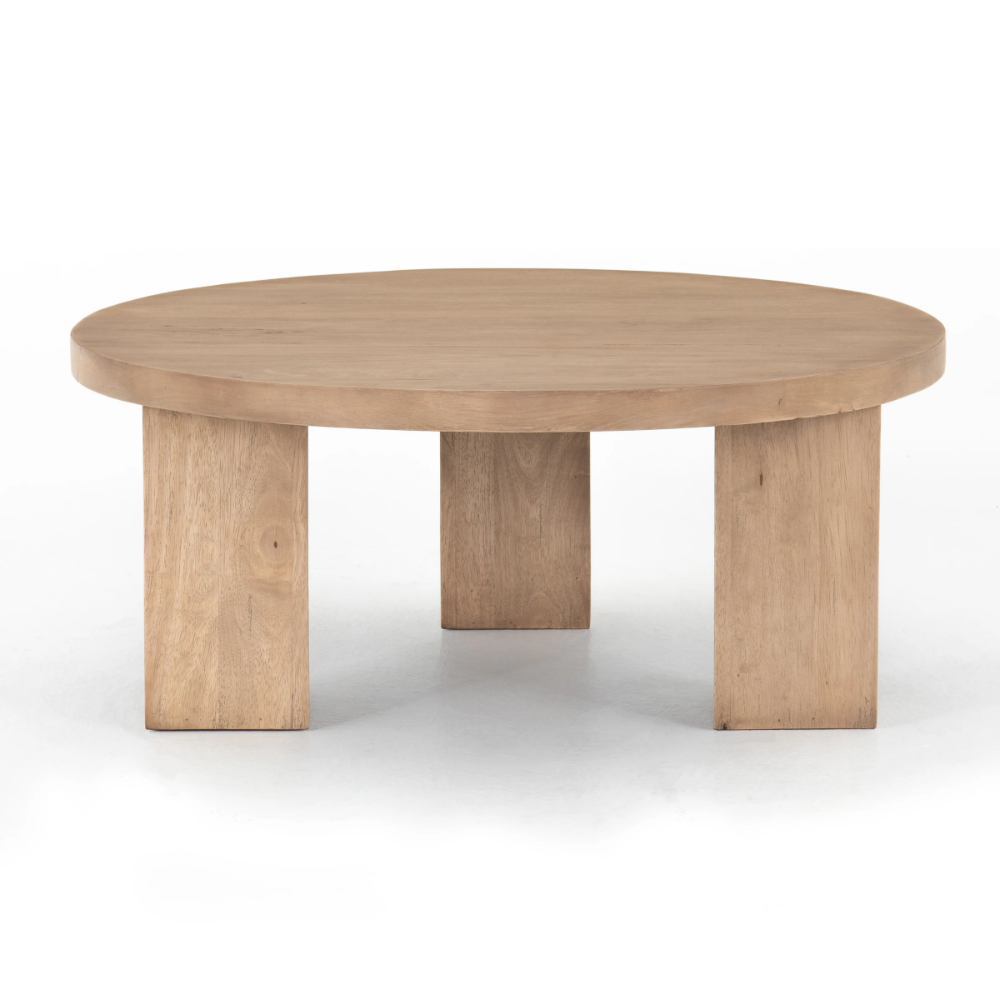 Mesa Round Coffee Table Light Brushed France Son Coffee Table Round Coffee Table Home Coffee Tables [ 1000 x 1000 Pixel ]