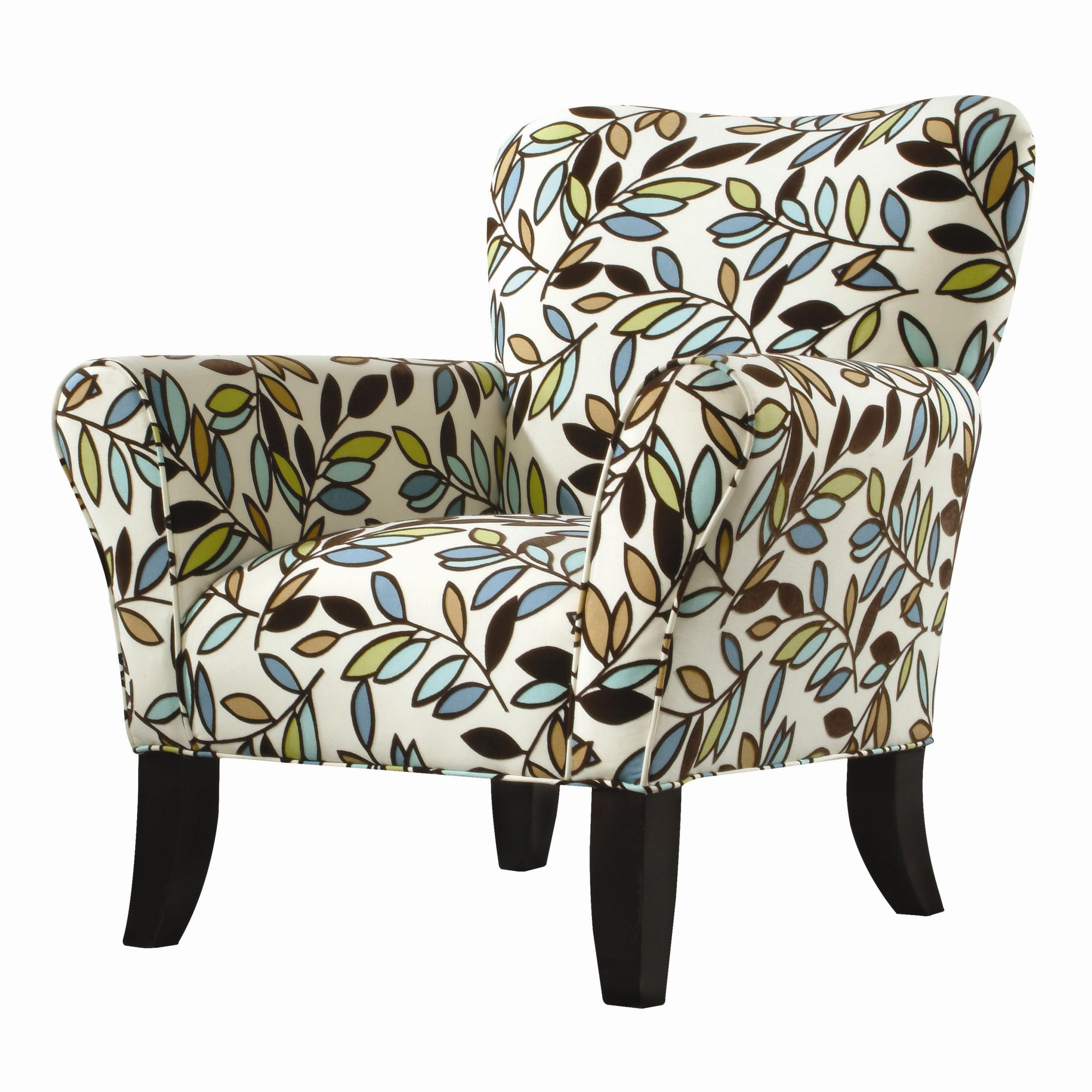 Classic Chair Accents Curved Leg Accent Chair By Cmi Wolf
