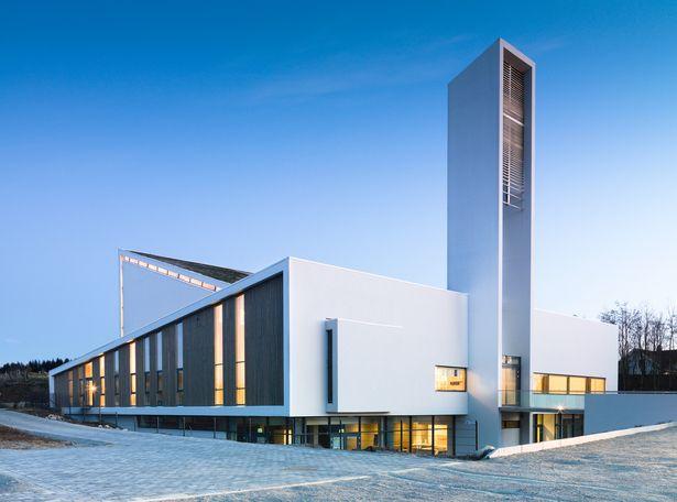Froyland Orstad Church Link Arkitektur Archinect Church Design Architecture Church Architecture Modern Contemporary Church Design