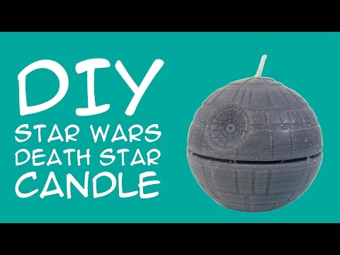 Diy Star Wars Death Star Candle For Star Wars Fans A Geekymcfangirl Tutorial Youtube Star Wars Diy Star Wars Death Star Star Wars Crafts