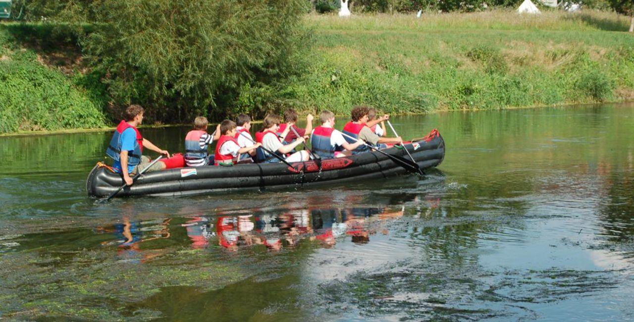 Schlauchboot-Tour Karsdorf #Abenteuer #Boote #Bootsfahrt