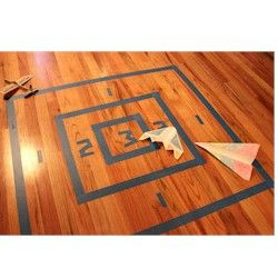 Paper Airplane Target Craft - Crafts for boys