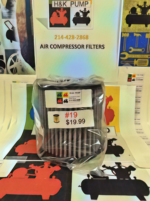 air compressor filters, piston compressor filters, rotary