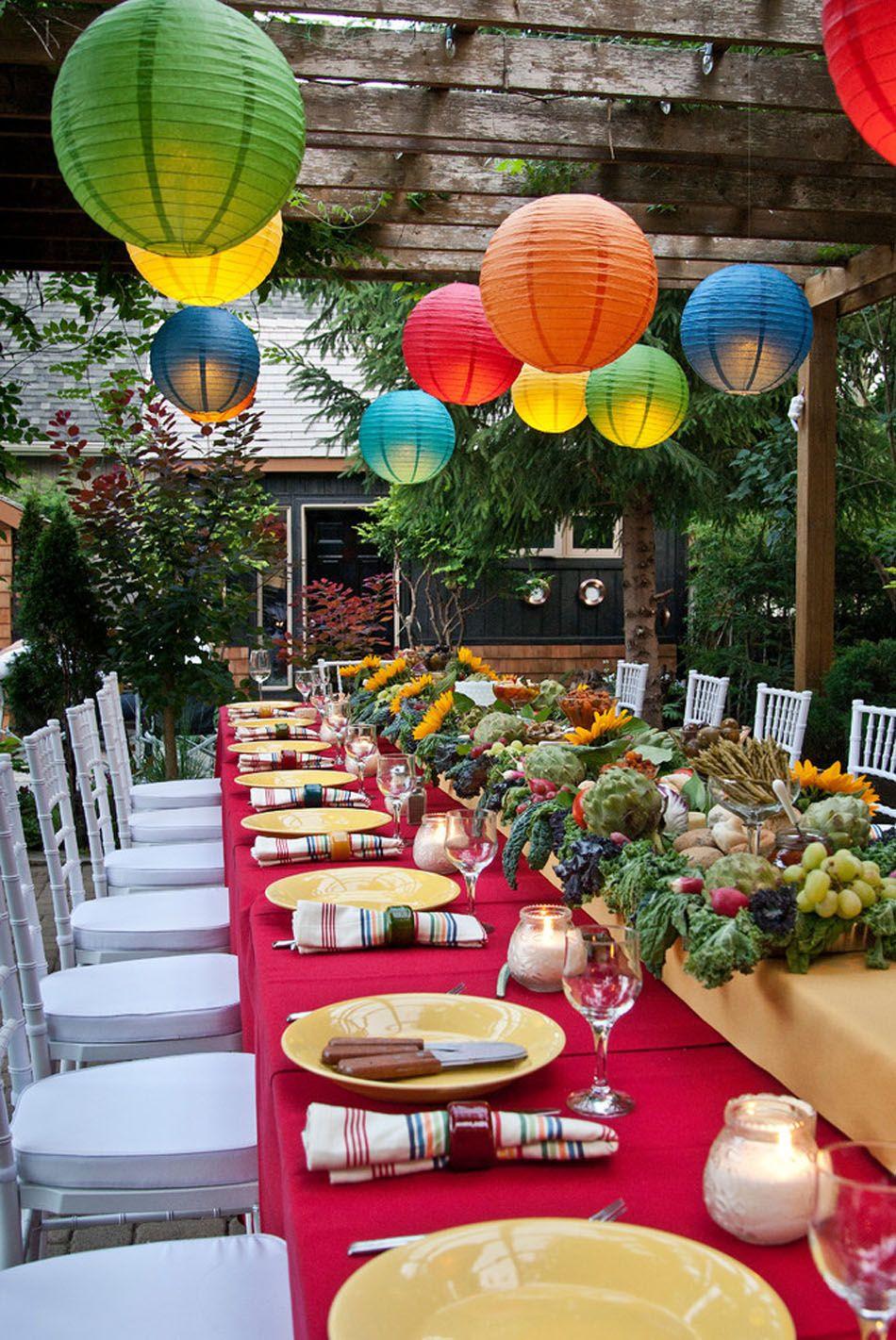 agencement de table de thanksgiving