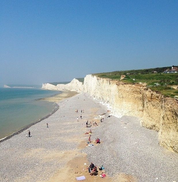 Birling Gap. Sussex - England