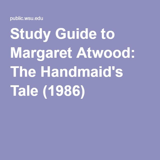 an essay on margaret atwoods the salt garden A fter its formidable first season debuted in spring 2017, the small-screen adaptation of margaret atwood's the handmaid's tale rode a wave of timely, trump-era resonance all the way to emmy.