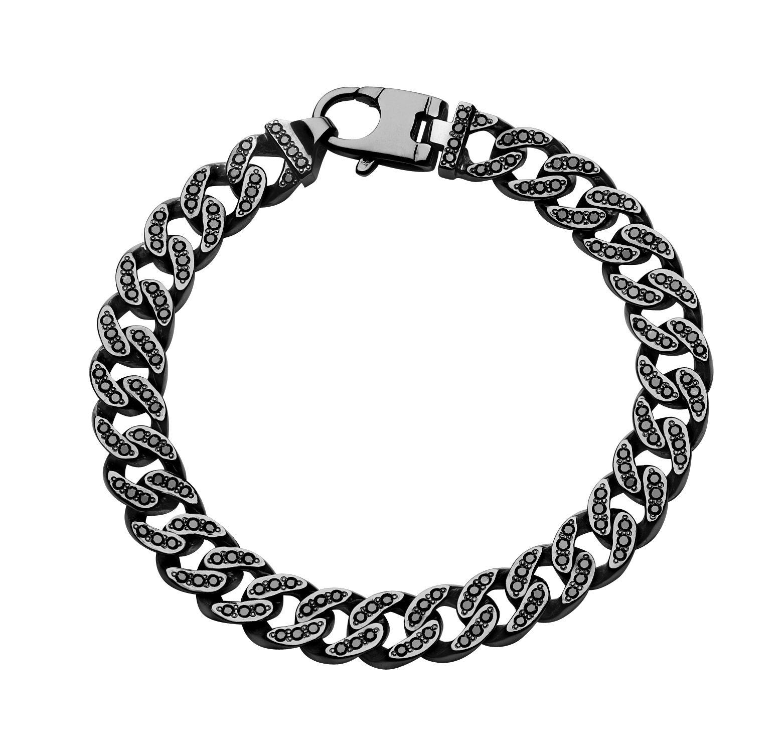Black Diamond Bracelet http://lyonfinejewelry.mybigcommerce.com/products/Bedford.html