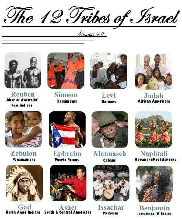 The Real 12 Tribes of Israel | Did you know... | 12 tribes ...