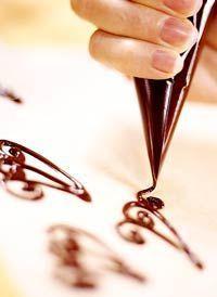 Basics Chocolate garnishes make the perfect addition to any dessert.Chocolate garnishes make the perfect addition to any dessert.