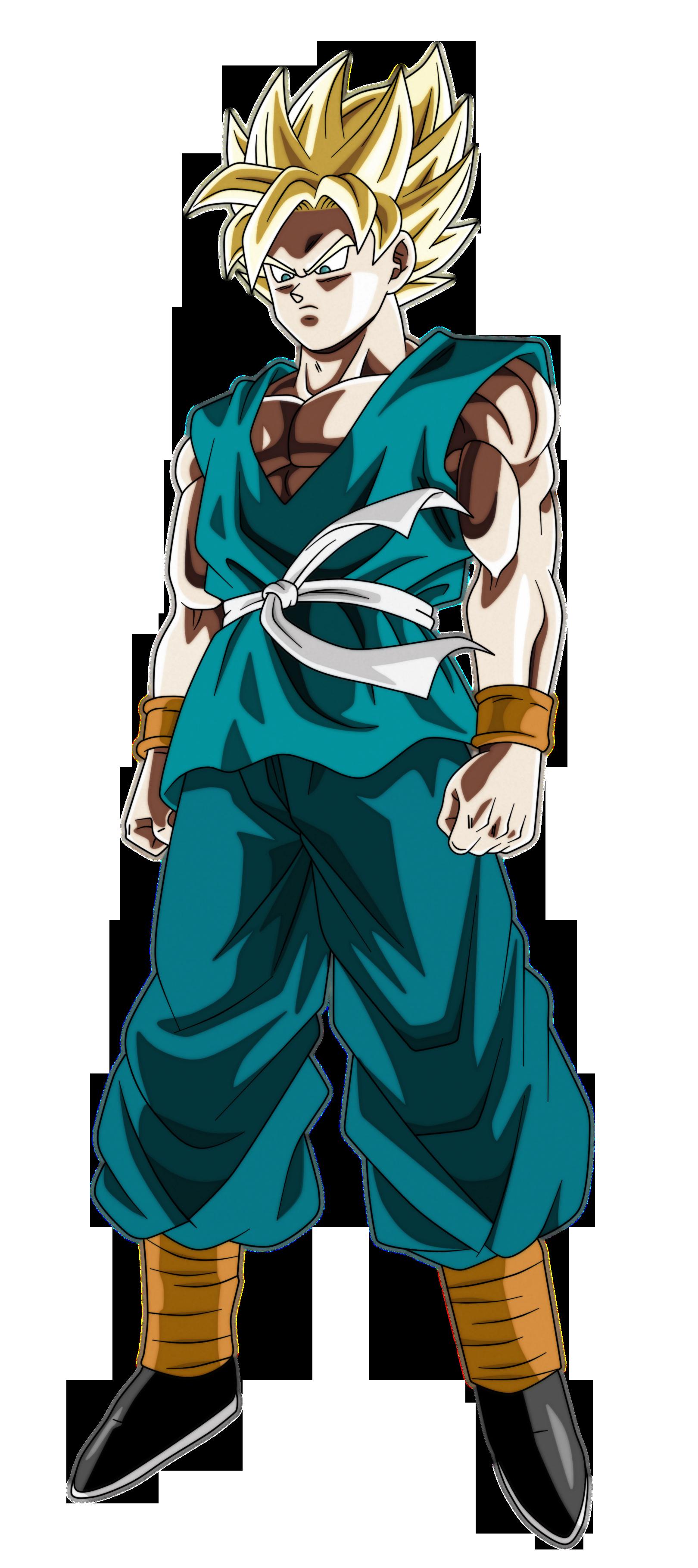 Goku Ssj End Of Z By Andrewdb13 On Deviantart Goku Super Saiyan God Goku Dragon Ball Art