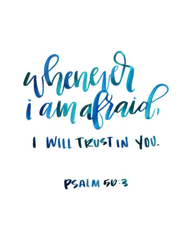 16x20 psalm 56:3 — Write On! Design