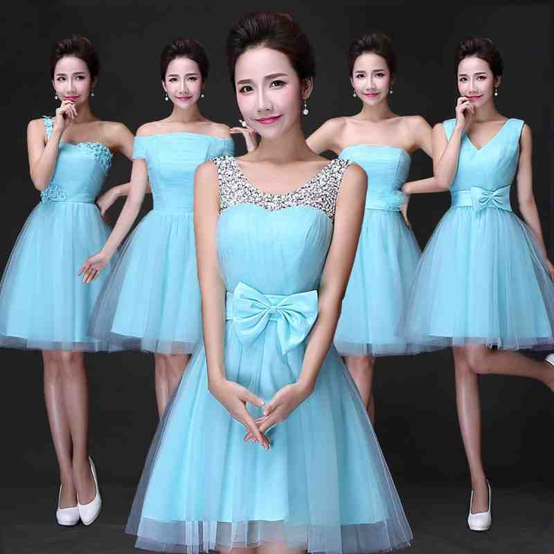 Turquoise Bridesmaid Dresses Under 50 | Turquoise bridesmaid ...