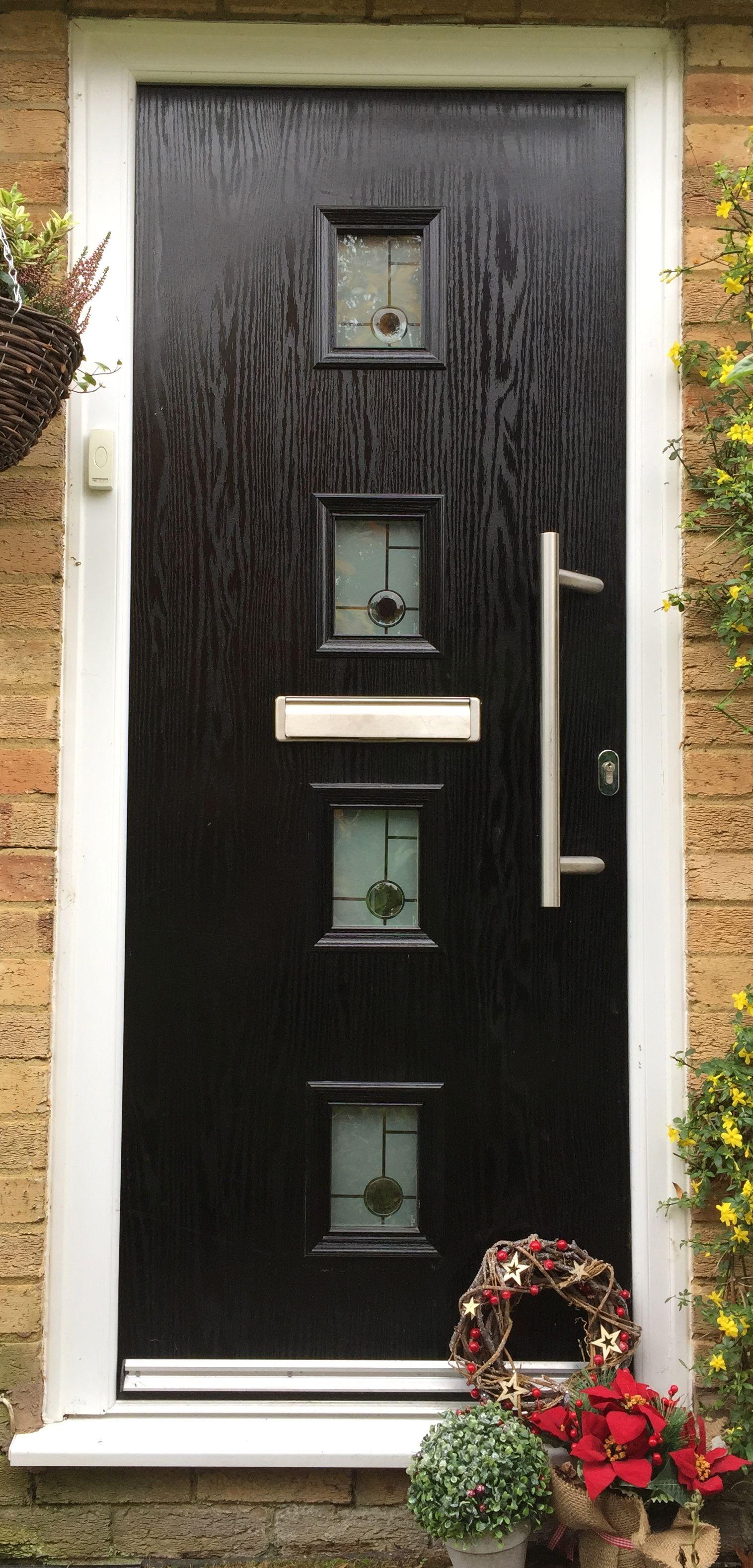 Black Composite Door Design And Order Online With Adoored We Have