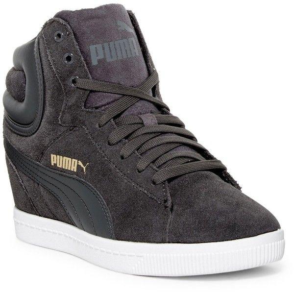 PUMA Vikky High-Top Wedge Sneaker (75