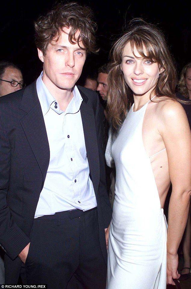 Elizabeth Hurley Reveals Hugh Grant S Moods Ruined Their Romance Elizabeth Hurley Hugh Grant Elizabeth Hurley Hugh Grant