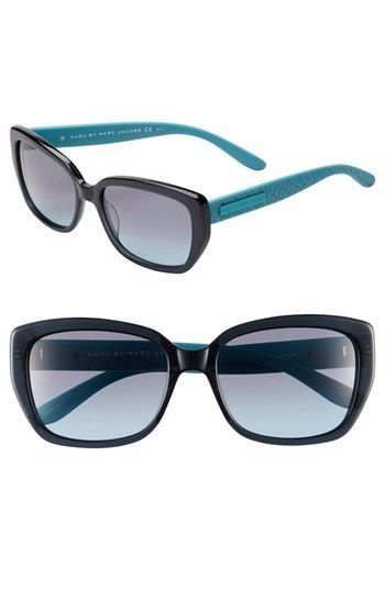 MARC BY MARC JACOBS 55mm Retro Sunglasses available at  Nordstrom ... 35f11be45a6f