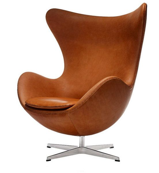 Egg Chair Stol Design Lounge Chair Lader