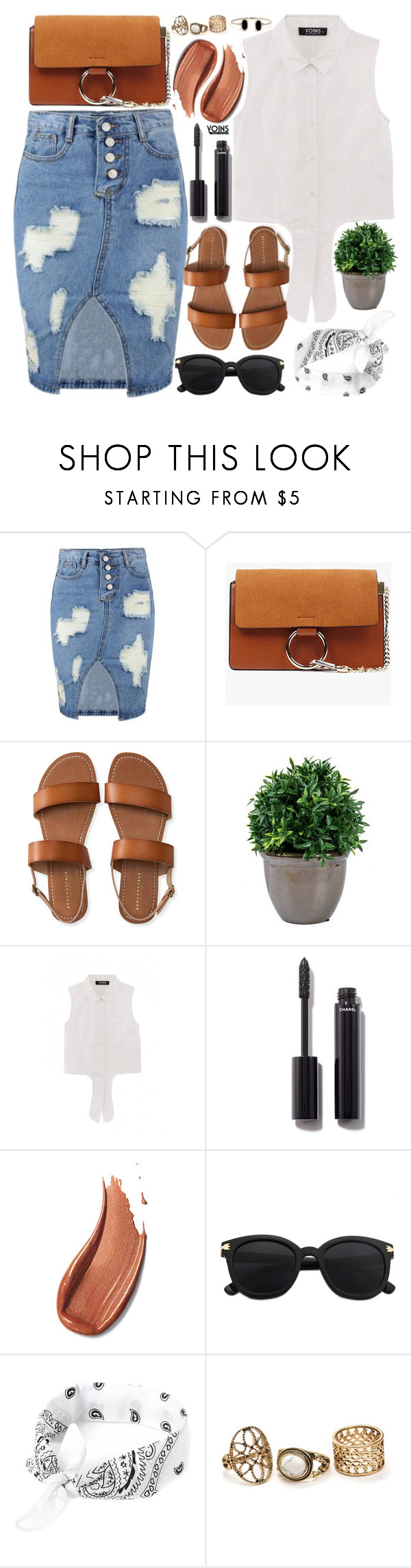 """""""Summer Wishlist"""" by vanjazivadinovic ❤ liked on Polyvore featuring Aéropostale, Chanel, Lulu*s, polyvoreeditorial, Poyvore, yoins, yoinscollection and loveyoins"""