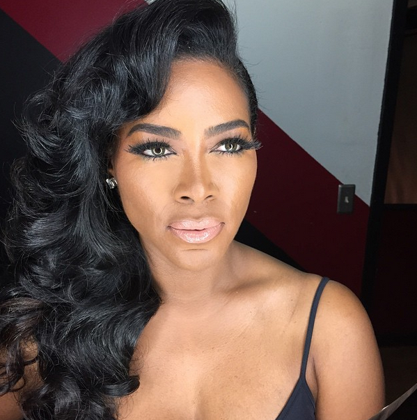 Kenya Moore Gets Called A Bully Bossip Kenya moore