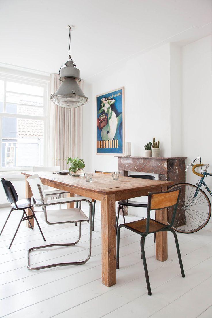 Inspiration déco ] La valeur du blanc | Dining room decorating and ...