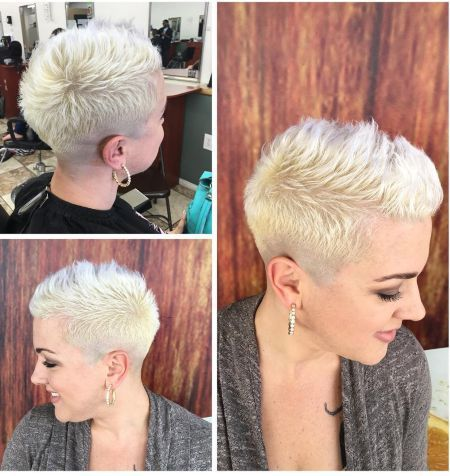 Shaved Hairstyles For Women That Turns Heads Everywhere Http - Hairstyles for short hair on tumblr